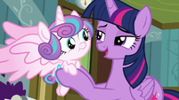 "Twilight Sparkle ""how about we head home?"" S7E3"