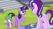 "Twilight Sparkle ""you talk to me"" S8E7"