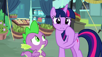 Twilight Sparkle thinking of another idea S8E18