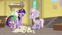 Twilight Sparkle wracked with guilt S9E5
