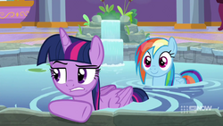 Twilight annoyed by interrupted alone time MLPCS4