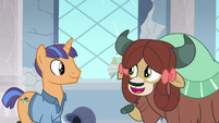 Yona talking about Professor Rockhoof S8E21