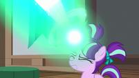 Young Starlight Glimmer casting magic again S7E24