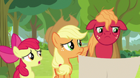 AJ and Apple Bloom find Big Mac troubled S9E10