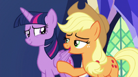 Applejack -just go with it, hon- S7E11