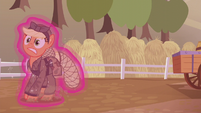 Applejack gets dragged away from the farm S5E25