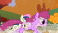 Berryshine and Sweetie Drops in the race S1E13.png