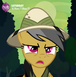 Daring Do on an adventure promotional S4E04