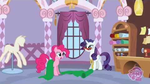 Es Arte Un Vestido Hacer (español Latino) Rarity (My Little Pony)-0