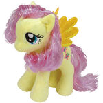 Fluttershy Tinsel Ty Beanie Baby