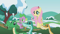 Fluttershy and Spike watch the snakes S1E11.png