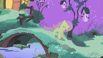 Fluttershy running away crying S4E14
