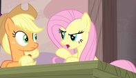 Fluttershy scolds her friends S5E1