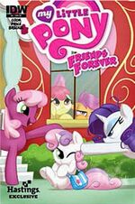 Friends Forever issue 8 Hastings cover