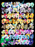 My Little Pony Acidfree art print
