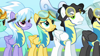 Pegasi's eyes rolling around S3E07