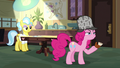 """Pinkie Pie """"'Thanks For Lending Me Your Jacket' peach pie"""" S7E23.png"""