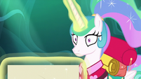 Princess Celestia hears something S9E13