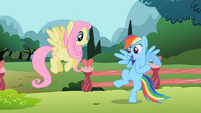 Rainbow Dash 'I need something real fast...' S2E07