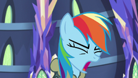 Rainbow Dash groaning with frustration S6E24