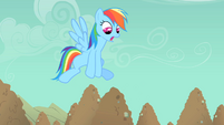 Rainbow Dash needs to go faster S1E19