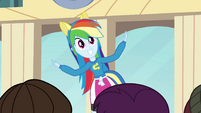 Rainbow Dash singing EG