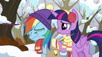 Rainbow Dash tearing up again S5E5