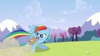 Rainbow braking while talking S3E7