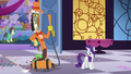 Rarity blushing in embarrassment S5E7.png