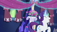 Rarity hanging curtains and lace S5E3