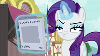 Rarity looking very annoyed S7E19