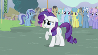 Rarity not wanting this S3E5