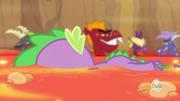 S02E21 Spike pływa w lawie