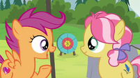 "Scootaloo ""let's all meet right back here"" S7E21"