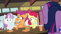 Scootaloo making pose S4E15