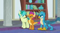 Smolder -dragons and griffons are just too tough- S8E1