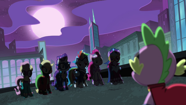 """File:Spike """"holy new personas, ponies!"""" S4E06.png"""