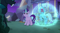 Starlight Glimmer looking at Thorax S6E25
