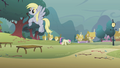Sweetie Drops and Derpy clearing branches S01E08.png