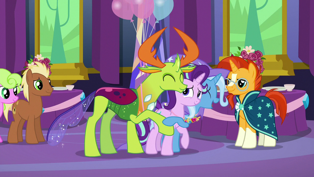 File:Trixie and Thorax hug Starlight Glimmer S7E1.png