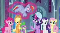 "Twilight ""step into their horseshoes"" S9E1"