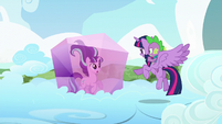 Twilight --Now more than ever I know how important it is to stop you!-- S5E26