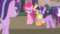 Twilight -is that why you all have those cutie marks-- S5E1
