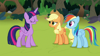 Twilight Sparkle suggests a nature walk S8E9