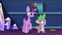 Twilight and Spike (S5E22)