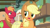 Applejack -you have any idea, Big Mac-- S7E13