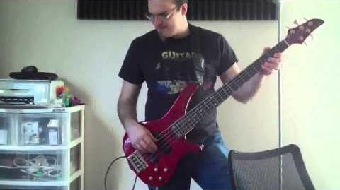 Bass Cover Rainbow Rocks - Welcome to the Show