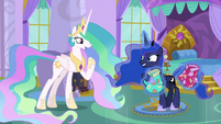 "Celestia ""I have a few things for us, too"" S9E13"