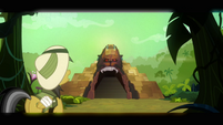 Daring Do discovering the temple S2E16