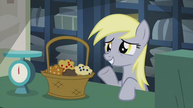 File:Derpy with a basket of muffins S5E9.png
